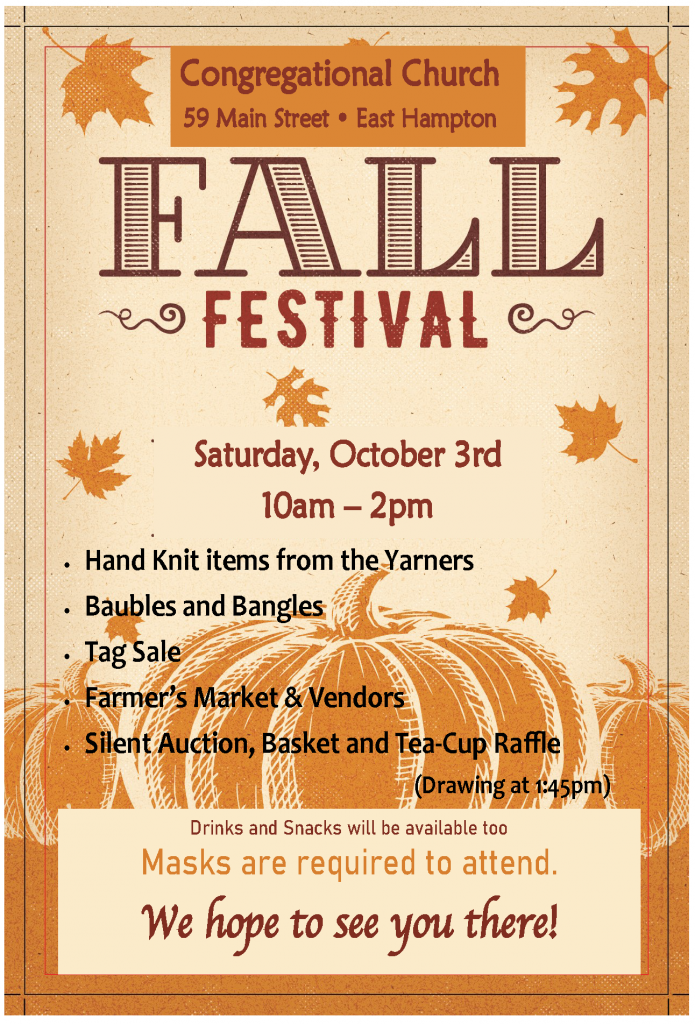 fall festival 2020 flyer
