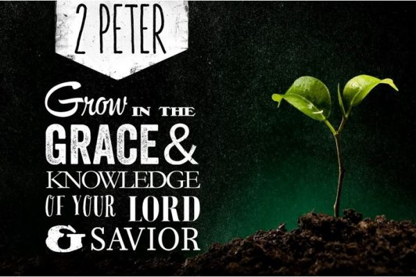 2 Peter Grow in the Grace & Knowledge of your Lord & Savior