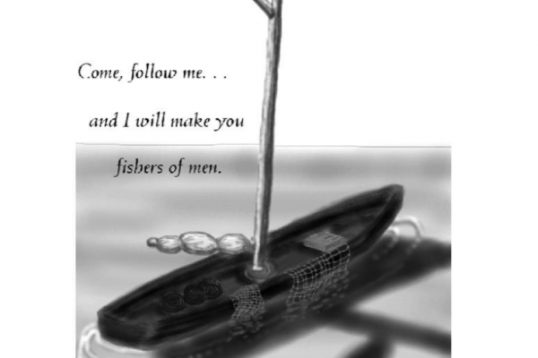 Come, follow me and I will make you fishers of men. Mark 1:17