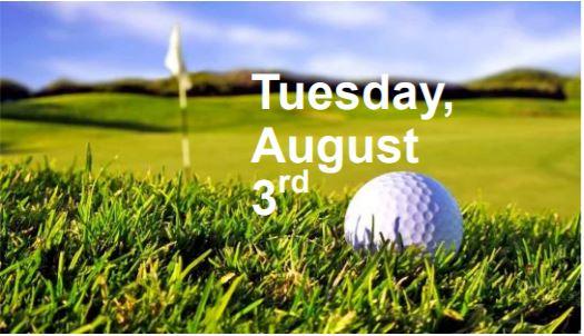 Golf tournament, Tuesday, August 3rd